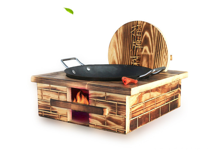 Retro Featured Hotel Pcs Tableware Restaurant Farmhouse Specialties Signature Dishes Private Kitchen Dishes Wood Stove