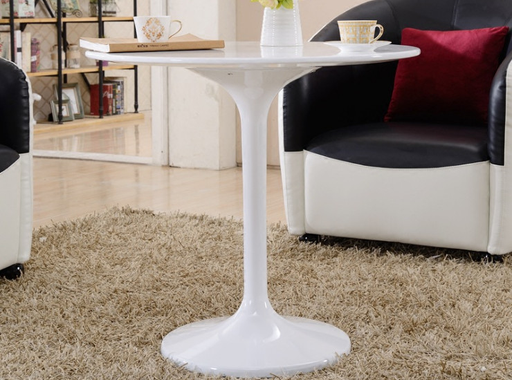 Simple And Modern Round Table Fashion Personality Tea Table Leisure Creative Living Room Business Combination Round Table (Shipping & Installation Fee To Be Quoted Separately)
