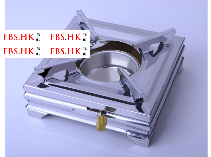 Stainless Steel Alcohol Stove Stainless Steel Buffet Stove Stainless Steel Square Sprinkler Furnace Fire Boiler