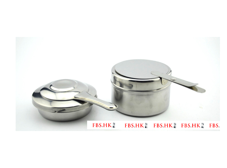 Stainless Steel Alcohol Stove Ufo Type Straight Body Restaurant Buffet Outdoor Hot Pot Dry Pot Solid Liquid Adaptation