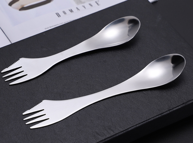 Stainless Steel Cutlery Creative Three-In-One Cutlery