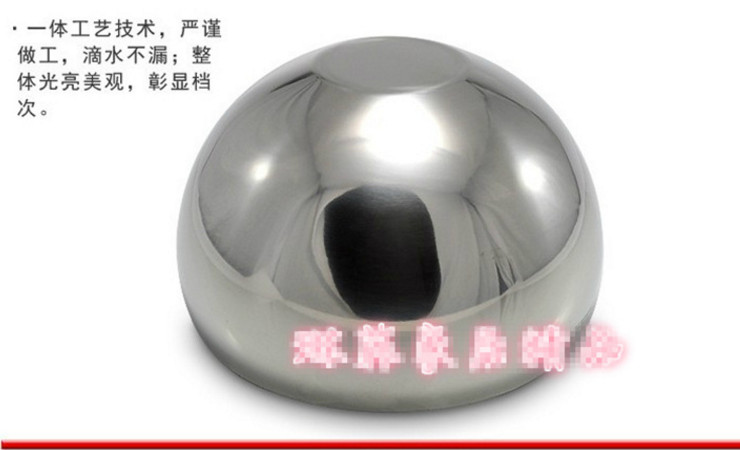 Stainless Steel Double-Layer Ice Bowl Spherical Ice Bucket Transparent Cover Ice Bowl Salad Bowl With Lid Ice Bucket