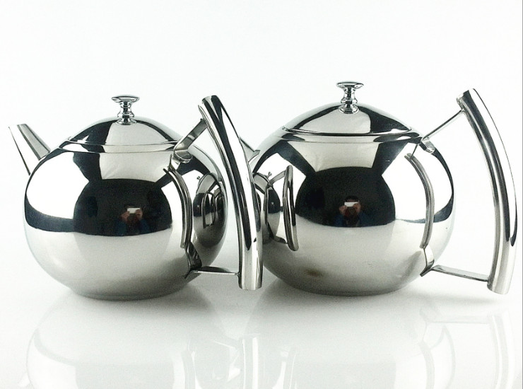 Stainless Steel Hotel Restaurant Dedicated Tea Tea Coffee Pot With Filter Kettle New Thick Exquisite Pot