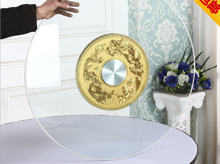 Table Turntable Turntable Turntable Round Table Home Large Round Table Table Round Base Glass Turntable Table