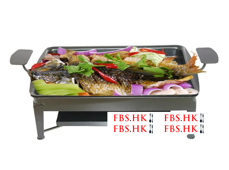 Thick Cast Iron Grilled Fish Furnace Hotel Charcoal Grilled Fish Furnace Commercial Charcoal Grilled Fish Rack Grilled Fish Dish Furnace