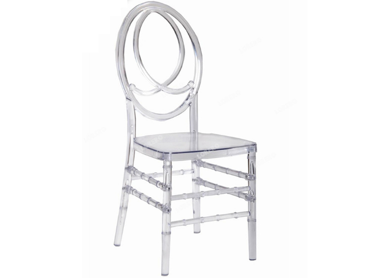 Western-Style Wedding Transparent Crown Chair Pc Acrylic Resin Simple Bamboo Chair European-Style Dining Chair (Shipping Fee To Be Quoted Separately)