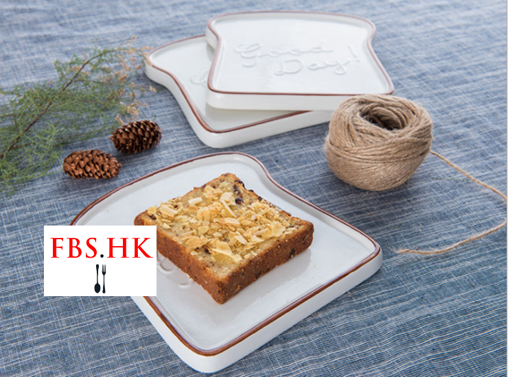 Wholesale French Relief Ceramic Goodday Breakfast Toast Bread Cheese Cheese Dessert Plate & Wholesale Wholesale French Relief Ceramic Goodday Breakfast Toast ...