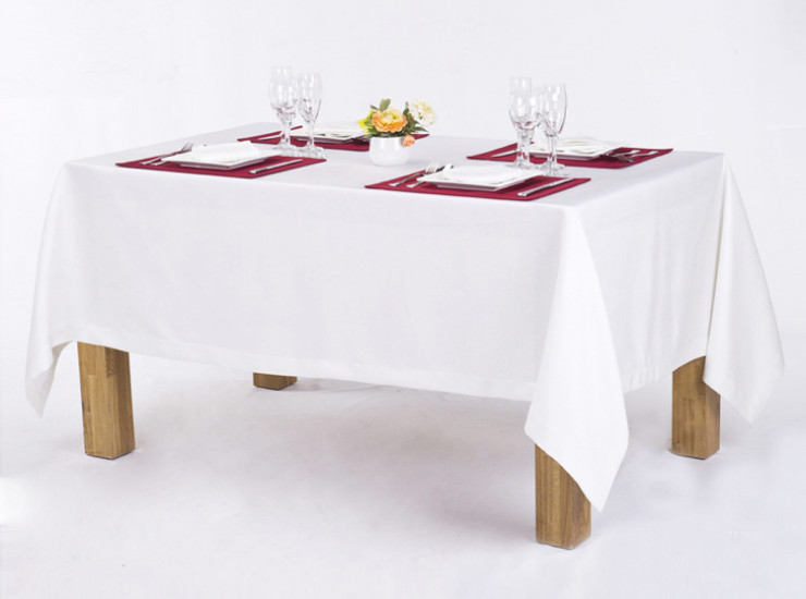 Wholesale Modern Minimalist Solid Color Tablecloths Hotel Meeting Room Wedding Banquet Activities Tablecloths