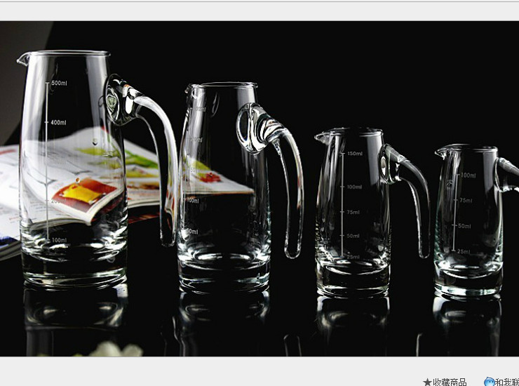 With The Scale Of The Wine Wine Collector Glass Small Jug 7-Liter Pot (Please order according to the box quantity)