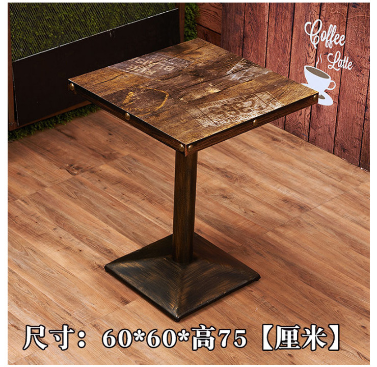 Wholesale wrought iron snack bar table and chair fast food wrought iron snack bar table and chair fast food restaurant dinette spicy bbq restaurant table and watchthetrailerfo